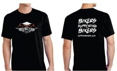 Support Bikers Crew T'Shirt | SupportBikers.com