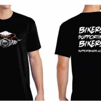 Support Bikers Crew T'Shirt | SupportBikers.com