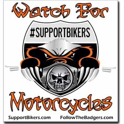 Bumper Sticker (SupportBikers)
