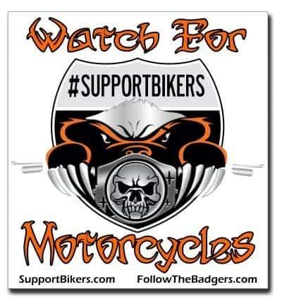 Bumper Sticker (SupportBikers)