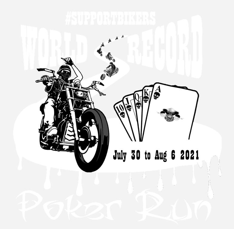 World Record Poker Run Official Logo