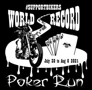 World Record Poker Run SupportBikers.com