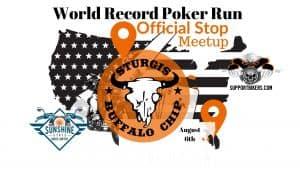 World Record Poker Run BUFFALO CHIP1