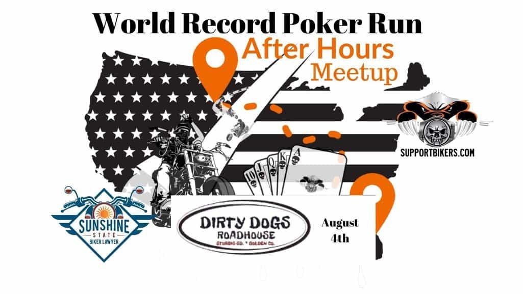 Dirty Dogs Roadhouse World Record Poker Run