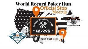 World Record Poker Run Million Dollar Highway Saloon